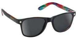 Glassy Leonard Sunglasses - Black/Tye-Dye