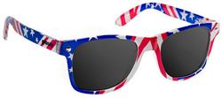Glassy Leonard Sunglasses - Flag