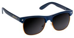 Glassy Shredder Sunglasses - Navy/Orange