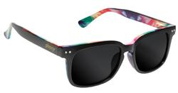 Glassy Lox Sunglasses - Black/Tye Dye