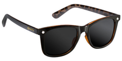 Glassy Mike Mo Sunglasses - Black/Tortoise Polarized