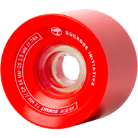 Arbor Summit Red Wheels - 71mm 78a