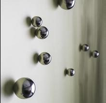 Wall Play Stainless Steel spheres set of 20