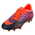 Hypervenom Phelon II FG - Total Crimson/Obsidian/Vivid Purple/Bright Crimson