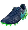 Nike Jr Tiempo Legend VI FG - Coastal Blue/Rage Green/Polarized Blue