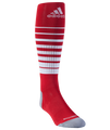 adidas Team Speed Sock - Red/White