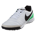 Nike TiempoX Mystic V TF - White/Black-Electro Green(42517)