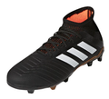 Adidas Predator 18.1 FG Jr - Black/White/Solar Red (111617)