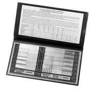 Flexbar COMPOSITE SET OF ROUGHNESS STANDARDS WITH N.I.S.T. CERT - 16008-CAL