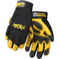 Steiner IronFlex® Ultimate™ Grain Pigskin Insulated Winter Gloves With Fleece Insulated Lining