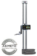 "Asimeto Double Beam Digital Height Gage w/Hand Wheel 0-24"" Range - 7627240"