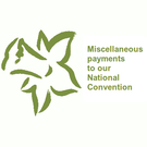 2018 Convention - National Convention Miscellaneous Payment