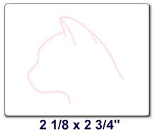 CAT Labels/ Box of 6 Rolls (3000 labels)