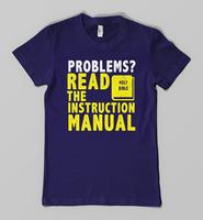 Instruction Manual tee