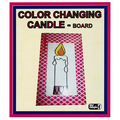 Color Changing Candle by Mr. Magic