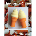 Sponge Ice Cream Cones by Alan Wong