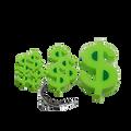 Sponge Money Sign Magic Trick