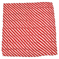 "36"" Red and White Zebra Silk by Uday Magic"