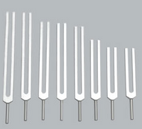 """Solfeggio Set 3 """"missing"""" 3 forks w/pouch (Unweighted)"""