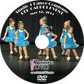 Studio 1 Dance Company 2014 Recital: Saturday 5/17/2014 3:00 pm DVD