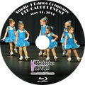 Studio 1 Dance Company 2014 Recital: Saturday 5/17/2014 3:00 pm Blu-ray