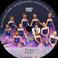 2014 Recital and Coppelia: Lilburn Recital Sunday 5/18/2014 6:30 pm DVD
