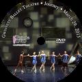 Gwinnett Ballet Theatre Journey 2015: Sunday 3/29/2015 DVD