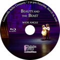 Gainesville Ballet Beauty and the Beast 2016: Saturday 3/19/2016 7:30 pm Wide angle only Blu-ray