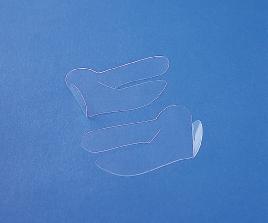 Guastellla / Mantovano fluoroplastic Nasal Splint, 5pr / box