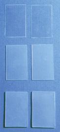 Fluoroplastic Sheet, Custom Cut, 5pr / box, various sizes