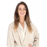 Pine Cone Hill Linen Chenille Natural Bathrobe