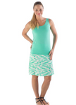 Bamboo Dreams® Short Skirt - Julep Brushstroke