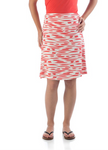 Bamboo Dreams® Short Skirt - Mandarin Brushstroke