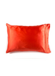 Yala Silk Charmeuse Pillowcases - Coral
