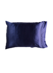 Yala Silk Charmeuse Pillowcases - Indigo
