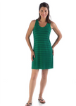 Bamboo Dreams® Tessa Tunic - Kelly Green / Navy Stripe