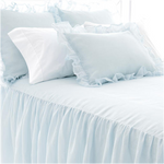 PINE CONE HILL SAVANNAH LINEN CHAMBRAY SKY BEDSPREAD