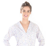 PINE CONE HILL WATERCOLOR DOTS BERRY SHIRT TAIL PAJAMA
