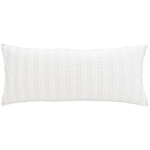 Pine Cone Hill Mod Pintuck White Decorative Pillow