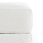 Pine Cone Hill Classic White 400T Fitted Sheet