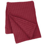 Pine Cone Hill Boyfriend Garnet  Matelassé Throw