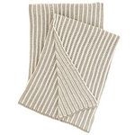 Pine Cone Hill Cozy Knit Pearl Grey Throw