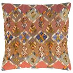 Pine Cone Hill Kenya Embroidered Square Decorative Pillow