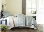 Peacock Alley Biagio Duvet Cover - Mist