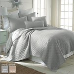 Levtex Bordeau Quilt Set - Grey