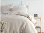 Peacock Alley Mandalay Linen Duvet Cover and Shams