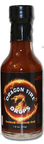 Nice and hot.  Our Dragon Fire Drops are all natural and made with the finest ingredients possible.