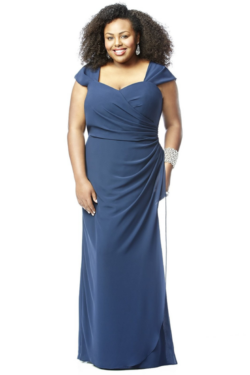 Lovelie Plus Size Bridesmaid Dress 9008