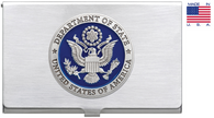 Department of State  Pewter BUSINESS CARD CASE
