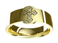 M0141 - 18k Yellow Gold (6 mm)